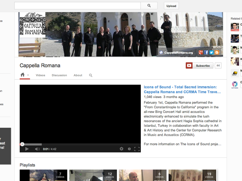 Cappella Romana YouTube