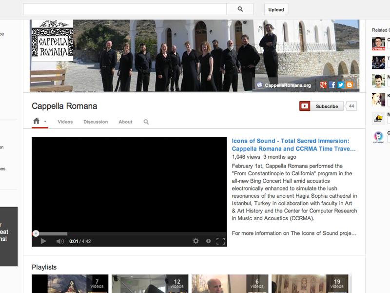 Cappella Romana YouTube