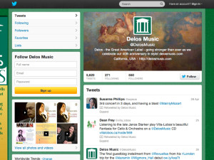 Delos Productions Twitter