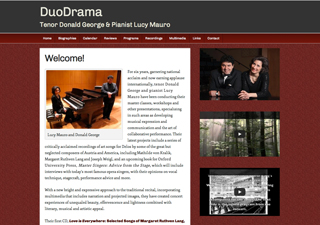 DuoDrama | Rosebrook Media Web Design