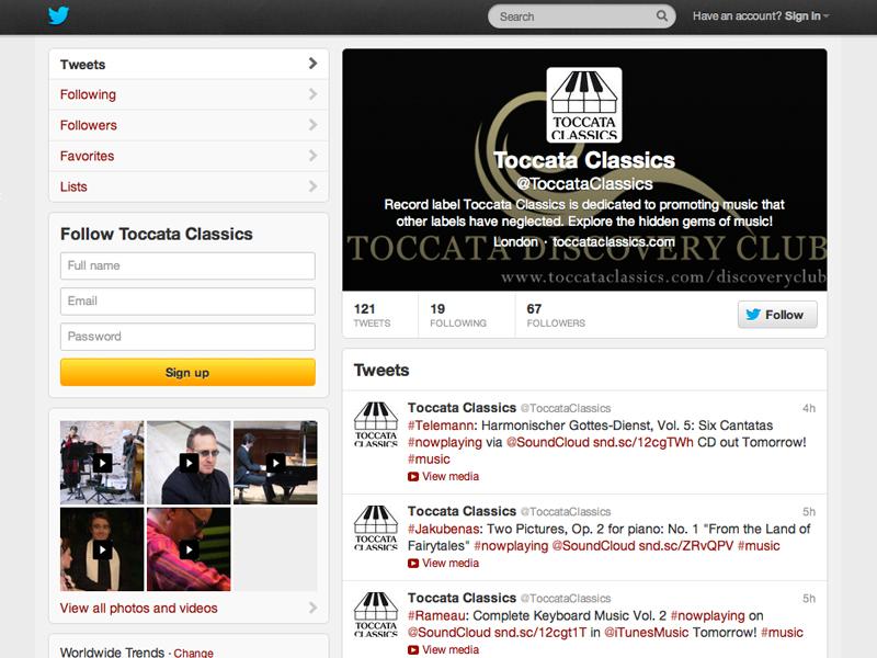 Toccata Classics Twitter