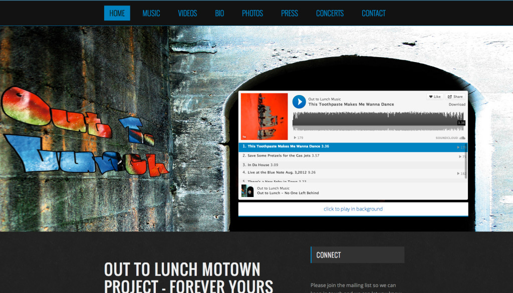 Out To Lunch | Rosebrook Media Web Development