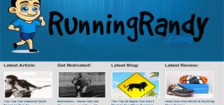 RunningRandy | Rosebrook Media Web Design Portfolio