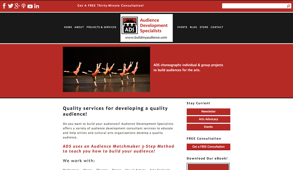 Audience Development Specialists — New Rosebrook Media Site