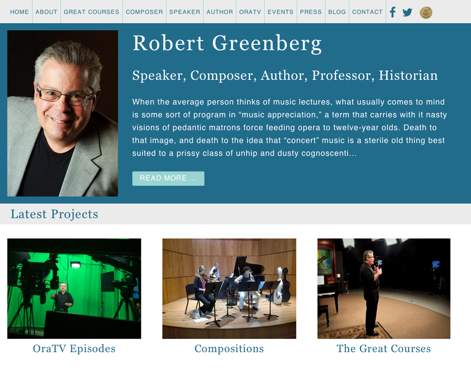 robertgreenbergmusic.com | Robert Greenberg New Website