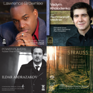 Delos and Reference Recordings International Classical Music Award Nominees