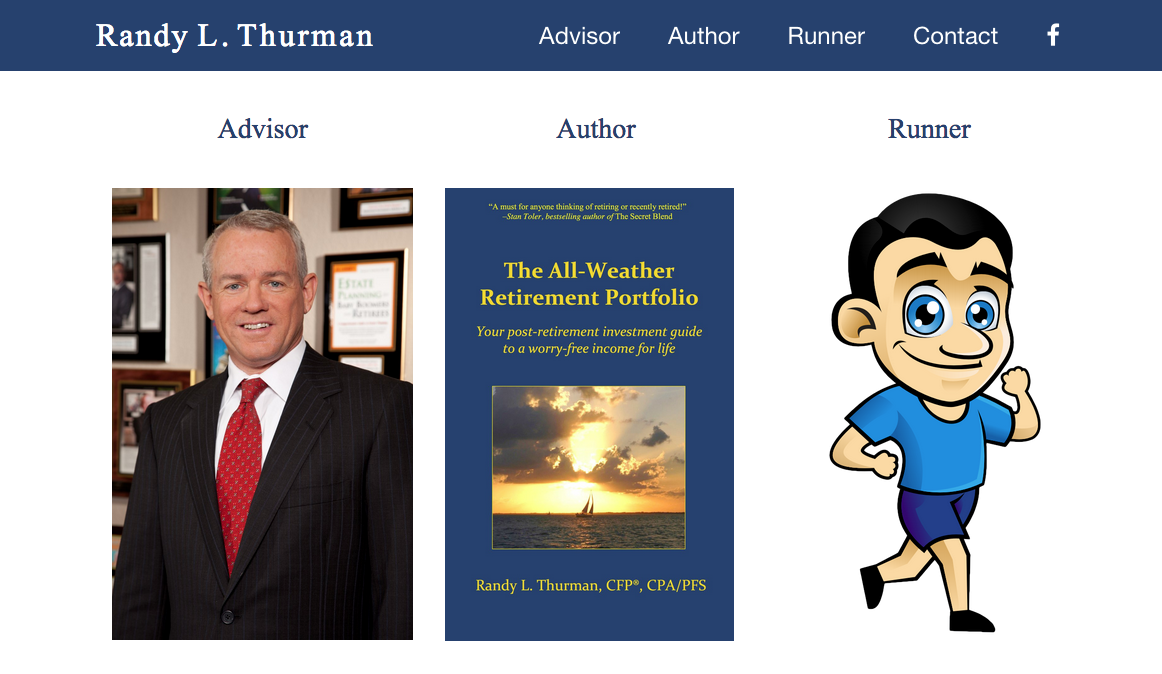 Randy Thurman Website - Randy Thurman, CFP®, CPA/PFS