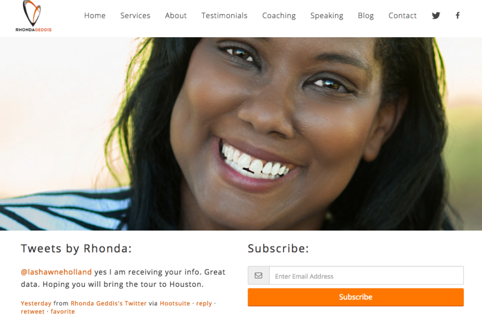 Rhonda Geddis Website