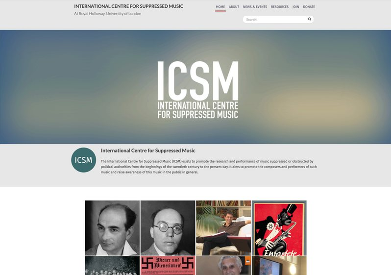 International Centre for Suppressed Music
