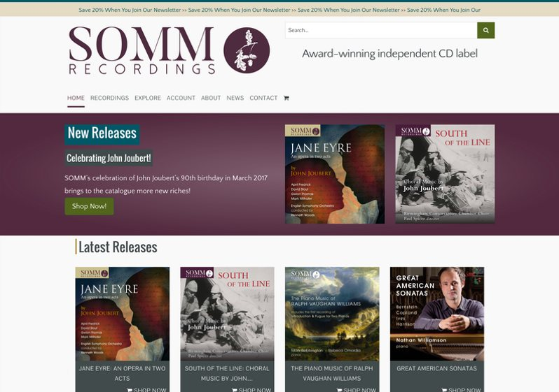 SOMM Recordings
